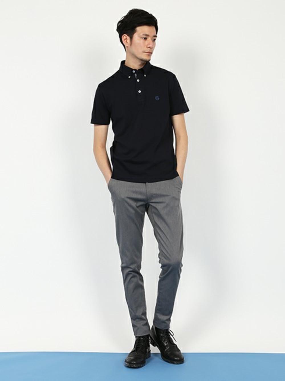 公務員のクールビズのポロシャツスタイル